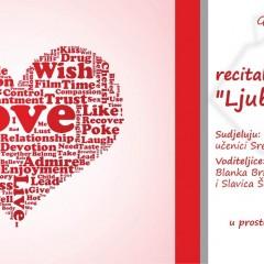 """""""Ljubav od riječi"""" – recital ljubavne poezije učenika Srednje škole Pakrac"""
