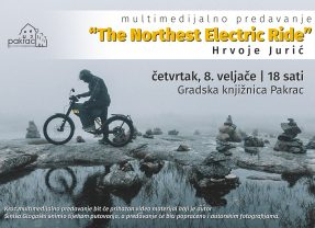 "Multimedijalno predavanje – ""The Northest Electric Ride"" – Hrvoje Jurić"