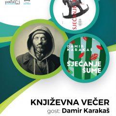 Damir Karakaš – književna večer prigodom Dana grada Pakraca