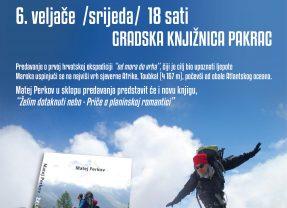 Matej Perkov – putopisno-planinarsko predavanje