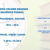 Radno vrijeme knjižnice