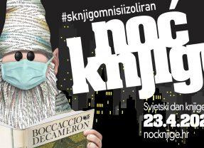 Online NOĆ KNJIGE 2020. u Gradskoj knjižnici Pakrac