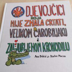 """Priča četvrtkom – """"O djevojčici koja nije znala crtati, Velikom Čarobnjaku i zaljubljenom krokodilu"""""""