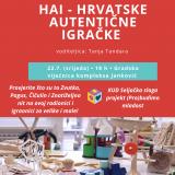 Radionica HAI – Hrvatske autentične igračke – COOLturno ljeto 2020.