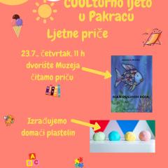 COOLturno ljeto – Ljetne priče, 23.7.