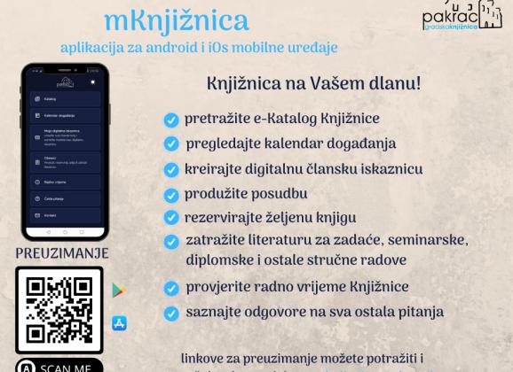mKnjižnica – Knjižnica na Vašem dlanu!