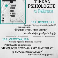 14. Tjedan psihologije u Pakracu