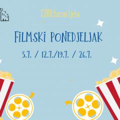 Filmski ponedjeljak / COOLturno ljeto